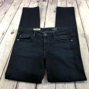 AG 'The Stevie' Slim Straight Ankle Jeans 28R